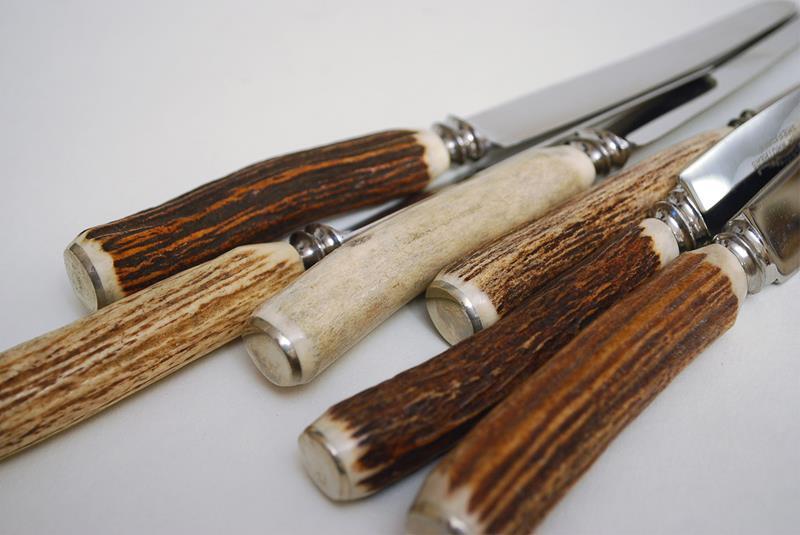 Достойный подарок другу или делаем рукоять для ножа из рога 97
