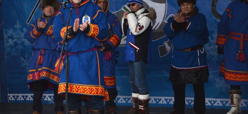 Оленеводы и губернатор ЯНАО